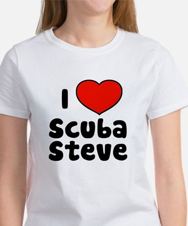 I Love Scuba Steve Women's T-Shirt