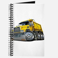 Mack Dump Truck Yellow Journal