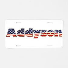 American Addyson Aluminum License Plate
