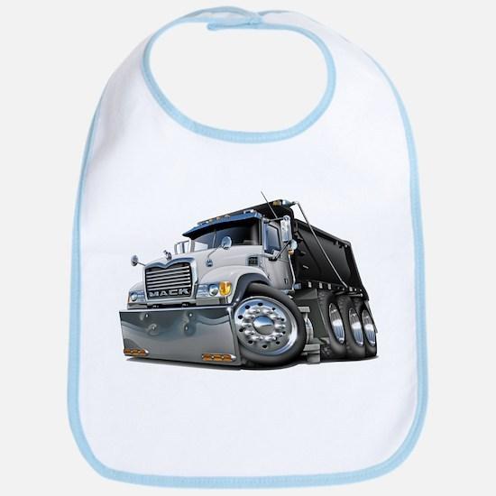Mack Dump Truck White-Black Bib