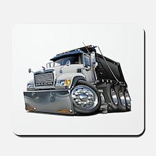 Mack Dump Truck White-Black Mousepad