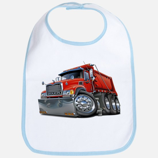 Mack Dump Truck Red Bib
