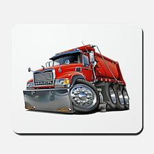 Mack Dump Truck Red Mousepad
