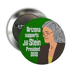 Arizona for Jill Stein President 2012 button