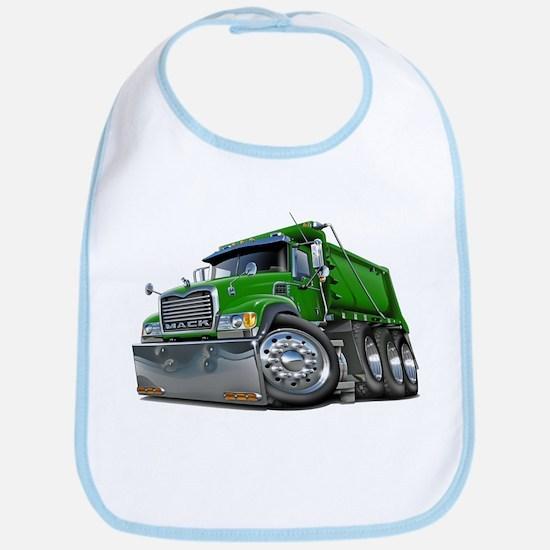 Mack Dump Truck Green Bib