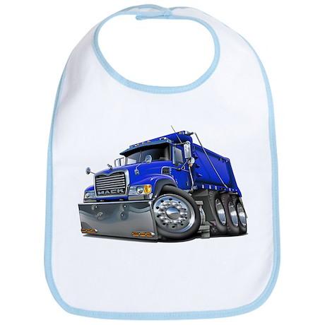 Mack Dump Truck Blue Bib
