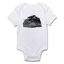 Mack Dump Truck Black Infant Bodysuit