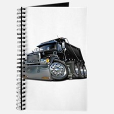 Mack Dump Truck Black Journal
