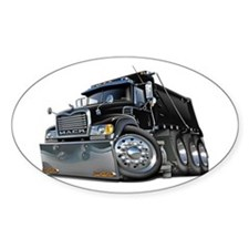 Mack Dump Truck Black Decal