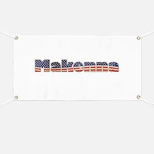 American Makenna Banner
