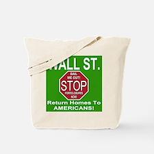 STOP Foreclosures Tote Bag