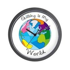 Quilter World Wall Clock