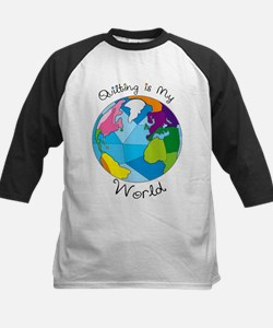 Quilter World Kids Baseball Jersey