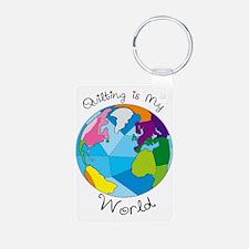 Quilter World Keychains