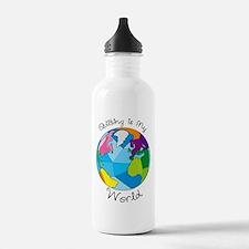 Quilter World Water Bottle