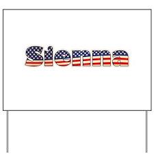 American Sienna Yard Sign