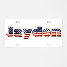 American Jayden Aluminum License Plate