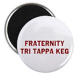 Fraternity Tri Tappa Keg Magnet