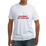 Fraternity Tri Tappa Keg Fitted T-Shirt