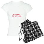 Fraternity Tri Tappa Keg Women's Light Pajamas