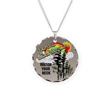 Forks Watch Your Neck Necklace