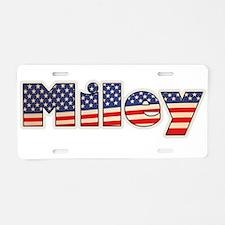 American Miley Aluminum License Plate