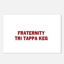 Fraternity Tri Tappa Keg Postcards (Package of 8)
