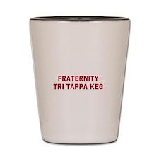 Fraternity Tri Tappa Keg Shot Glass