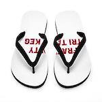 Fraternity Tri Tappa Keg Flip Flops