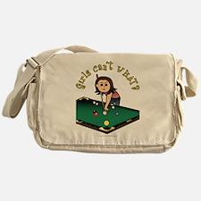 Light Billiards Messenger Bag
