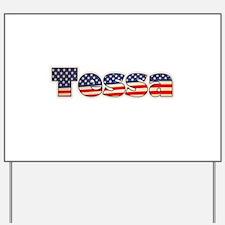 American Tessa Yard Sign