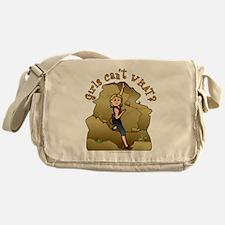 Light Rock Climber Messenger Bag