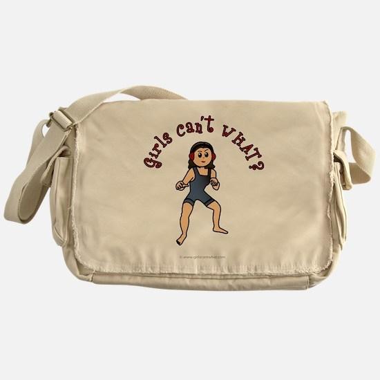 Light Wrestler Messenger Bag