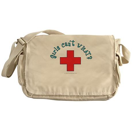 Red Cross Lifeguard Messenger Bag