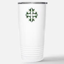 Peace lily quilt block Travel Mug
