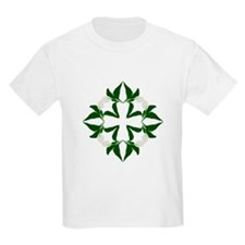 Peace lily quilt block T-Shirt