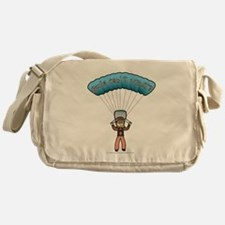 Blonde Sky Diver Messenger Bag
