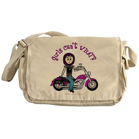 Custom Biker Messenger Bag