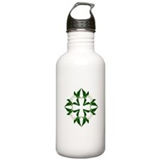 Cute Hawaiian quilt Water Bottle