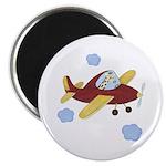 Giraffe - Airplane Magnet