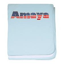 American Amaya baby blanket