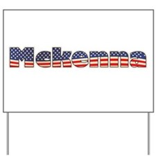 American Mckenna Yard Sign