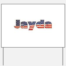 American Jayda Yard Sign