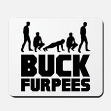 Buck Furpees Burpees Fitness Mousepad