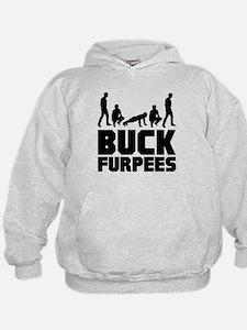 Buck Furpees Burpees Fitness Hoodie