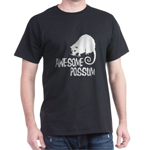 Awesome Possum Dark T-Shirt