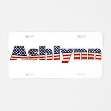 American Ashlynn Aluminum License Plate