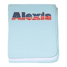 American Alexia baby blanket