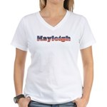 American Kayleigh Women's V-Neck T-Shirt