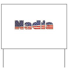American Nadia Yard Sign